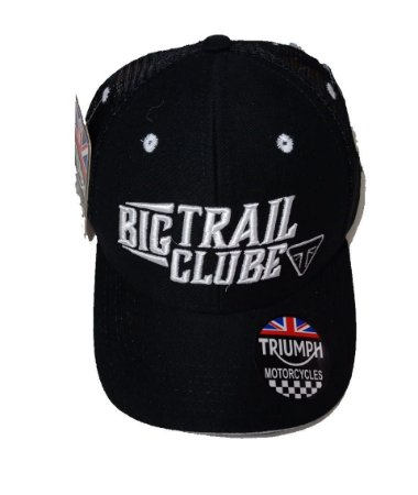 Boné Triumph Big Trail Clube Bordado Ajustável