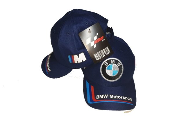 Boné Moto BMW Motosport Azul Marinho