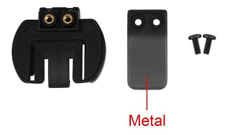 Clip Suporte Metal Para Intercomunicador V6 V4