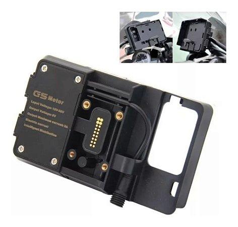 Suporte Celular Gps Adaptador Bmw 1200 1250 Gs Xr K1600