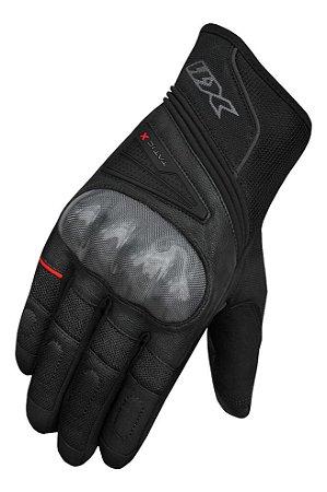 Luva Moto X11 Tatic X Ventilação Dedos Com Proteção