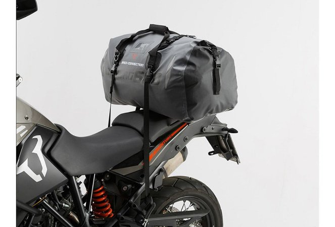 Mala Bolsa Impermeável Moto Drybag 600 60Lt Cinza Sw-motech