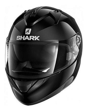 Capacete Shark Ridill Blank Blk Com Viseira Solar