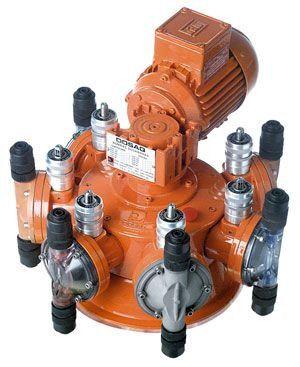 Bomba Dosadora DQDG 30 - Vazão 0 a 85 L/H por cabeçote