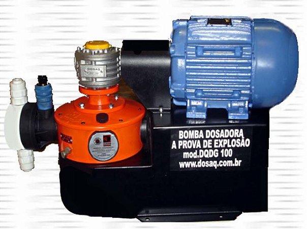 Bomba Dosadora a Prova de Explosão - Vazão 0 a 300 L/H