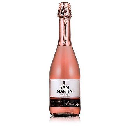 Espumante San Martin Moscatel Rosé R$ 21,90 reais unidade