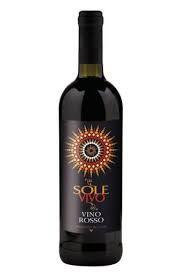 Vinho Sole Vivo tinto R$ 35,00 unid.