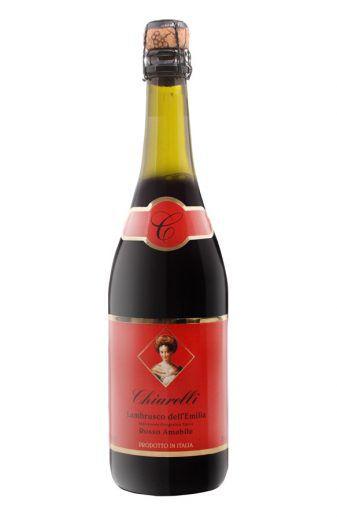 Lambrusco Chiarelli Amabile tinto cx 3 unid. R$ 59,70