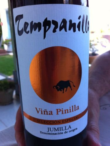 Vinho Tempranillo Vinã Pinilla  R$ 34,00 un.
