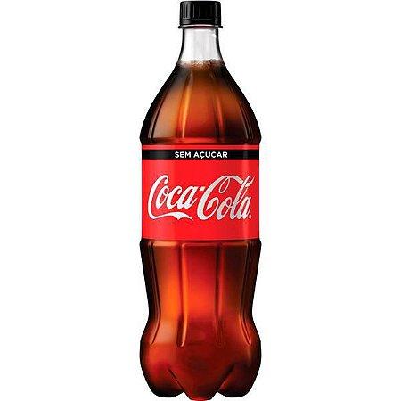 Coca Cola pet 500 ml sem açucar R$ 7,00 un.