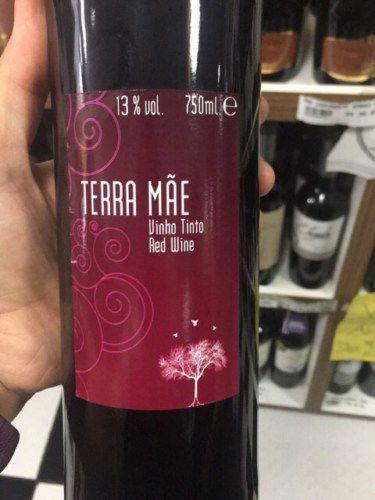 Vinho Terra Mãe Udaca tinto meio seco R$ 28,00 un.
