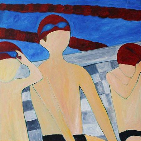 Quadro | Aula de natação