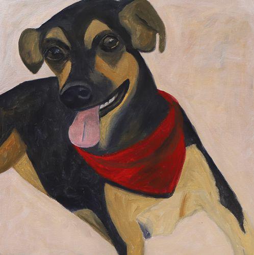 Quadro | Série Pagu | Cachorro 01
