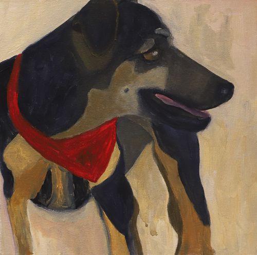Quadro | Série Pagu | Cachorro 05