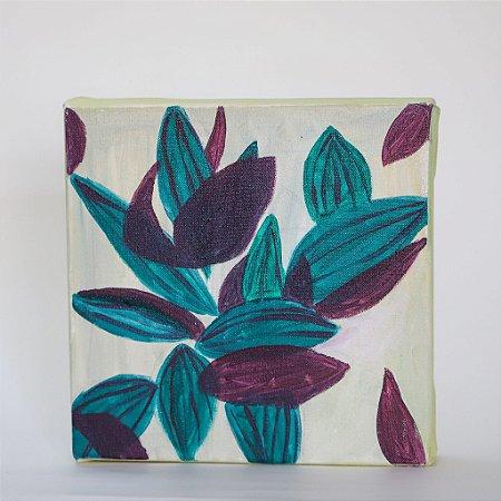 Quadro | Folhas coloridas