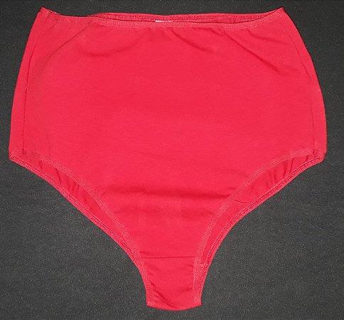 Hotpant porta treco vermelho liso