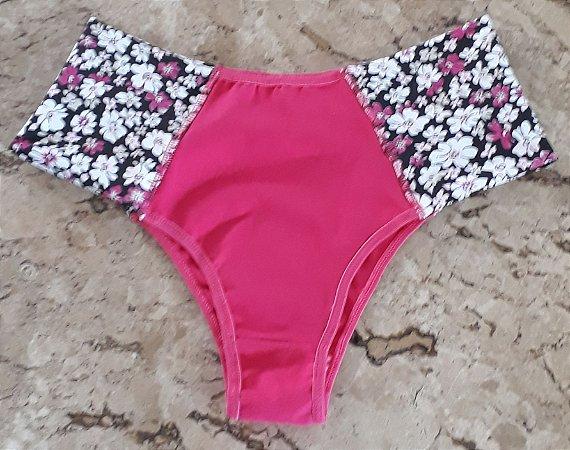 C. borboleta pink c/ floral
