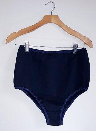 Hotpant azul marinho