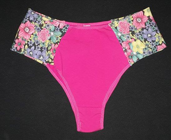 C. borboleta pink c/flores
