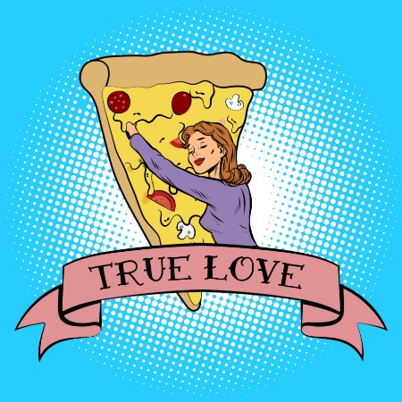 "QUADRO DE VIDRO ""TRUE LOVE"" 30CM X 30CM"