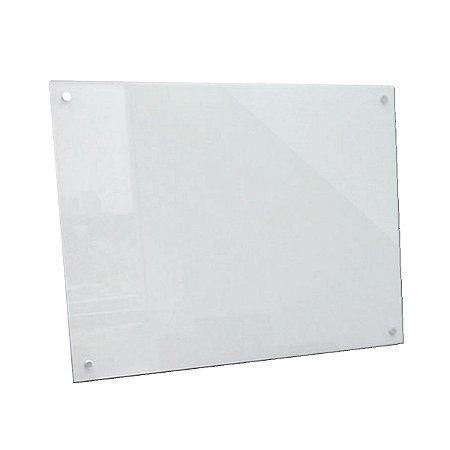 Lousa de Vidro Branca 60x40cm