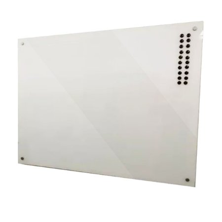 Lousa de Vidro Magnética Branca 100x60