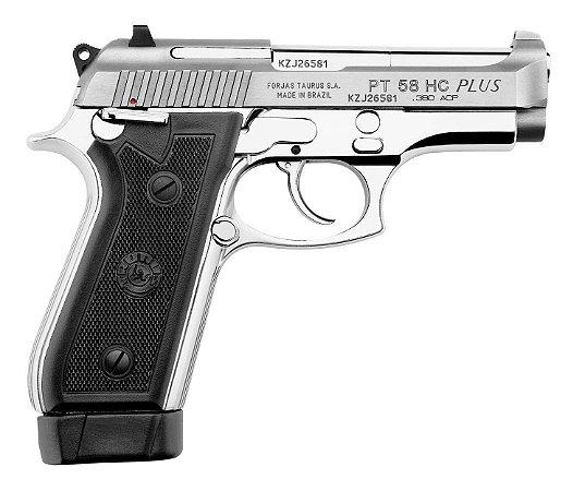 Pistola Taurus PT 58 HC Plus - Cal. 380 Auto