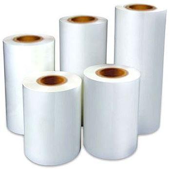 Película BOPP para termolaminadora 350mm x 350m Brilhante
