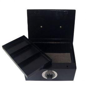 Porta Joias Pequeno com Segredo Black