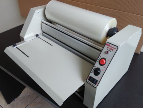 Plastificadora Rotativa R-380 (A3)