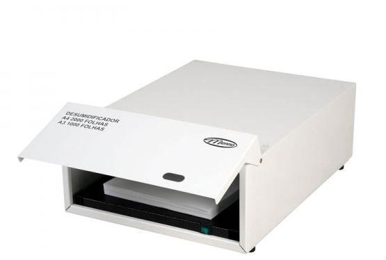Desumidificador de papel 1000 folhas A3 ou 2000 folhas A4