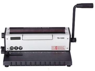 Encadernadora e Fechadora de Wire -O TD 1200