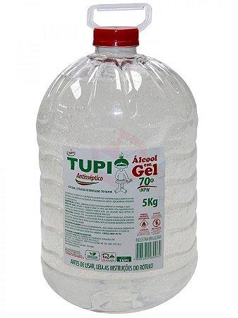 Álcool Gel 70% Galão com 5 Litros Tupi