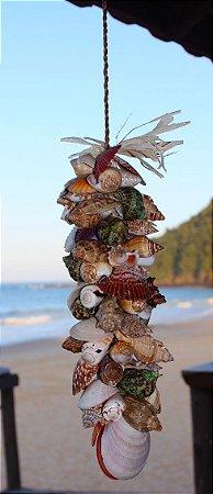 shell garland 33 cm  - unid