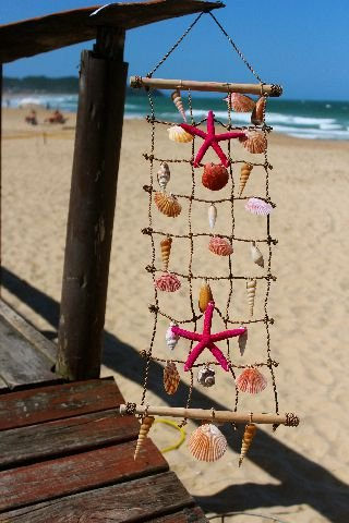 ladder curtain starfish 3x8 - unid