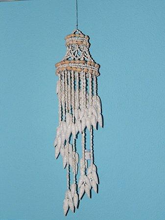 chandelier nassa w/ vertagus 80 cm - unid