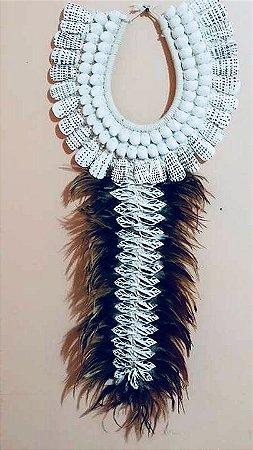 necklace mop bubbles/rhinoclavis vertagus cut - unid