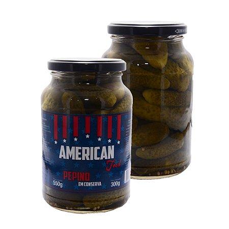 Pepino American Food -  15 unid x 300g