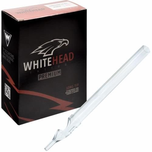 Ponteira Long Tip Descartável White Head - Traço - Unidade