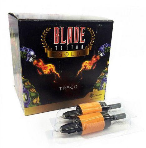 Biqueira Black Blade Gold 25MM - Traço/Bucha - 20 Unidades