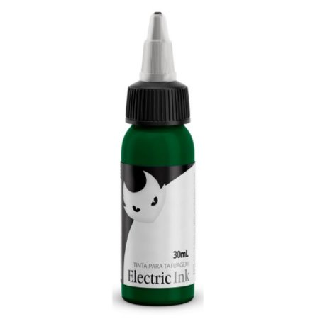 Tinta Electric Ink Verde Bandeira 30ml