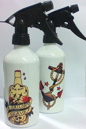 Borrifador de Aluminio 400ml - SAILOR JERRY Modelo 04
