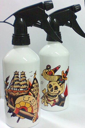 Borrifador de Aluminio 400ml - SAILOR JERRY Modelo 02