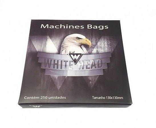 Plástico Protetor de Máquina White Head 13x13cm - 250 Unidades