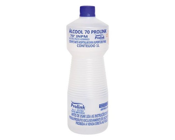Álcool 70 1 LT - Desinfetante Hospitalar
