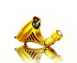 Máquina Rotativa Electra - Dourado