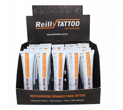 Restaurador Dérmico Reilly Tattoo Aftercare 15g - Caixa com 20 Unidades