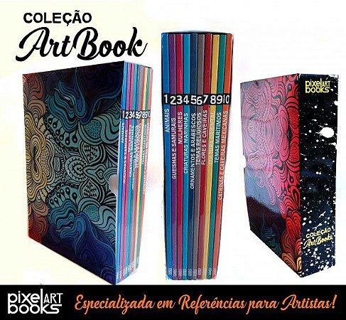 Coleção ArtBooks Flash Day - 10 Volumes