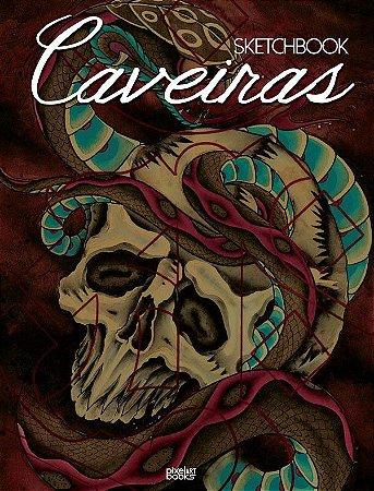 Sketchbook Caveiras - Artistas Variados