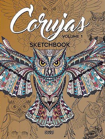 Sketchbook Corujas - Coletânea